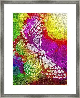 Butterfly World 2 Framed Print by Nico Bielow