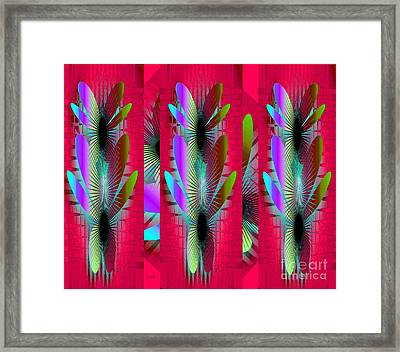 Butterfly World Framed Print by Iris Gelbart