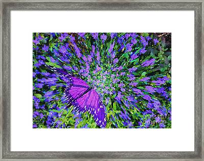 Butterfly.1 Framed Print by Mariarosa Rockefeller