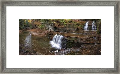 Buttermilk Creek Falls Framed Print by Mark Papke