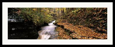 Buttermilk Falls State Park Framed Prints