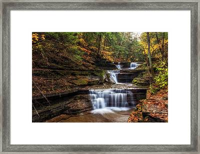 Buttermilk Creek Framed Print by Mark Papke
