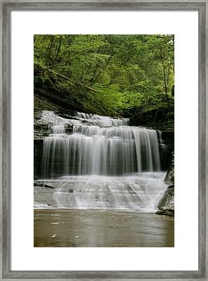 Buttermilk Falls Framed Print by Judd Connor