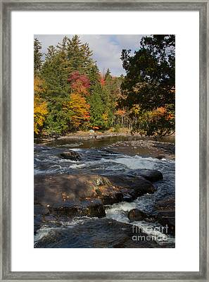 Buttermilk Falls Ny Framed Print by Chris Scroggins