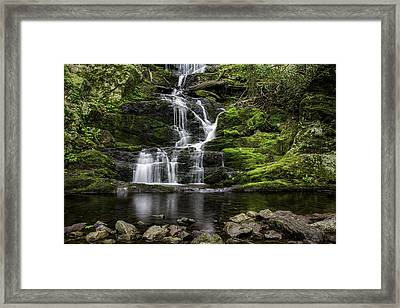 Buttermilk Falls Framed Print by Sara Hudock