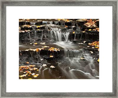Buttermilk Falls Framed Print by Shannon Workman