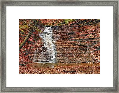 Buttermilk Waterfall Framed Print by Marcia Colelli