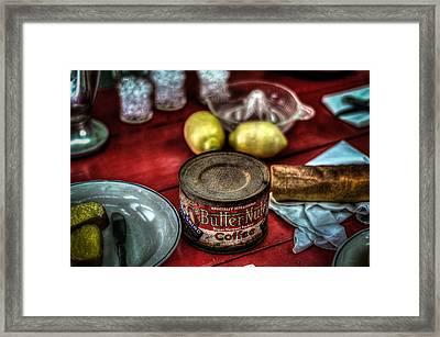 Butternut Cofee Framed Print
