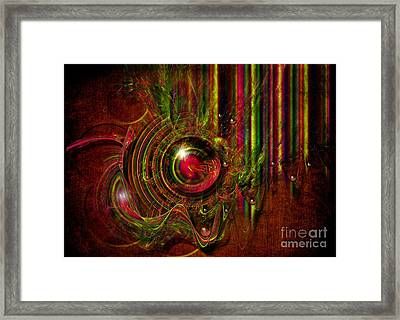 Framed Print featuring the digital art Shooting Gallery by Alexa Szlavics