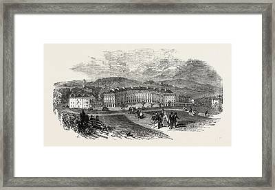 Buxton, The Crescent, New Baths Framed Print