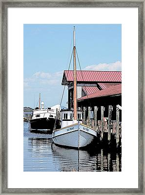 Buy Boat Old Point Framed Print