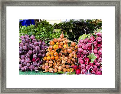 Buy From Your Local Farmer Framed Print