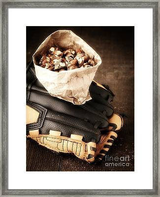 Buy Me Some Peanuts And Cracker Jack Framed Print