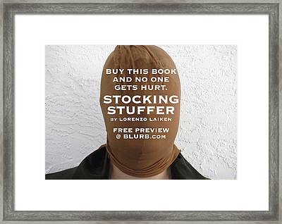 Buy This Book Framed Print