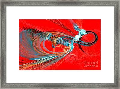 Buzzing Framed Print by Jeanne Liander