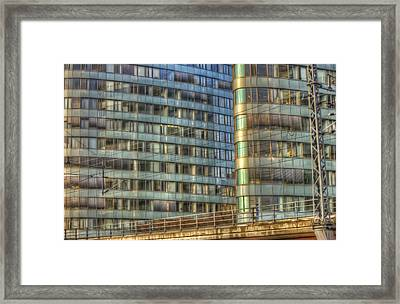 Bvg Building Framed Print by Nathan Wright