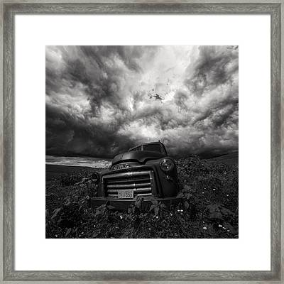 Bw Challenge Day 1 Framed Print by Aaron J Groen