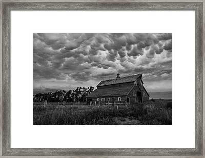 Bwcday3 Take Shelter  Framed Print