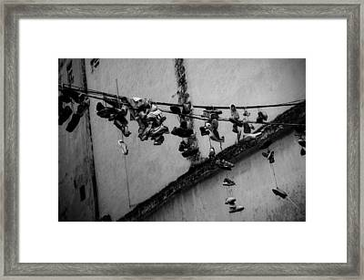 By A Shoestring Framed Print by Dan  Grover