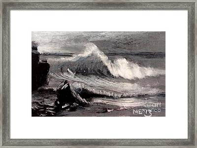 By Albert Bierstadt Framed Print by Maria Leah Comillas