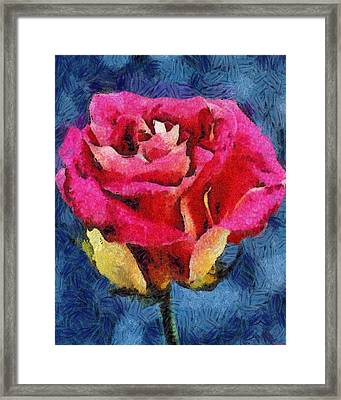 Framed Print featuring the digital art By Any Other Name by Joe Misrasi