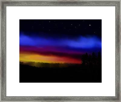 By Dawns Early Light Framed Print by Steve Hermann