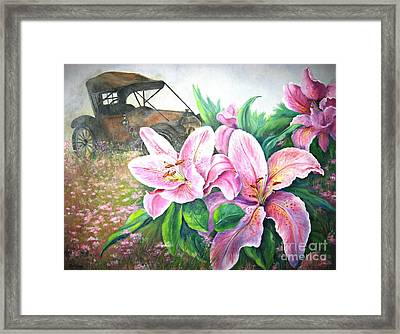 By Gone Days Framed Print