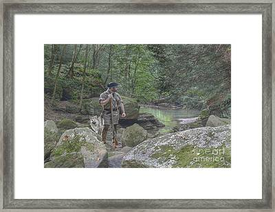 By His Side Framed Print by Randy Steele