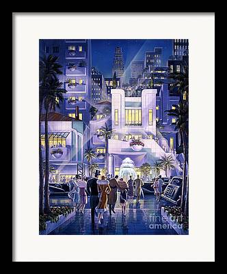 Premiere Digital Art Framed Prints