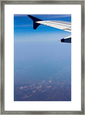 by Land Sea or Air Framed Print by Saurav Pandey