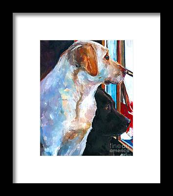 Labrador Retriever Framed Prints