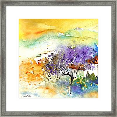 By Teruel Spain 01 Framed Print by Miki De Goodaboom
