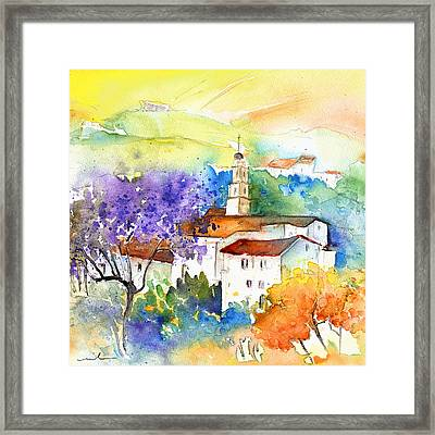 By Teruel Spain 02 Framed Print by Miki De Goodaboom