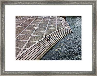 By The Banks Of Seine  Framed Print by Aleksander Rotner