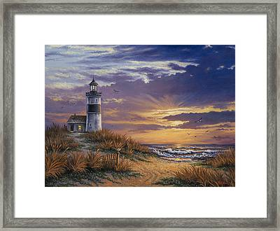 By The Bay Framed Print by Kyle Wood