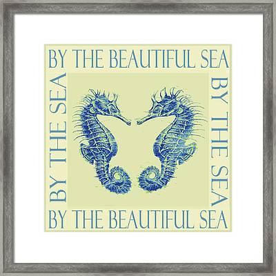 by the beautiful sea II Framed Print by Jane Schnetlage