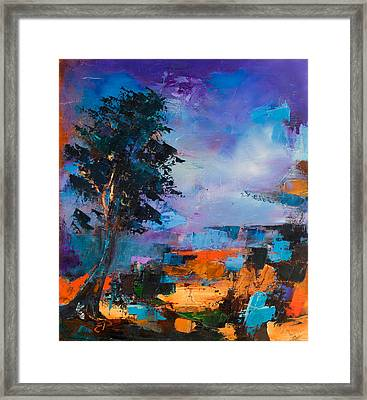 By The Canyon Framed Print by Elise Palmigiani