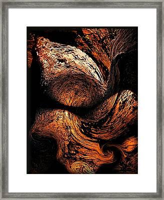 By The Fireside Framed Print
