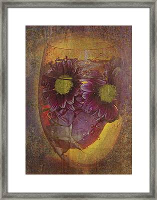 By The Glass  Framed Print