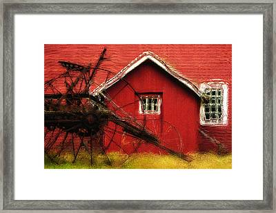 By The Mill House Framed Print by Jack Zulli