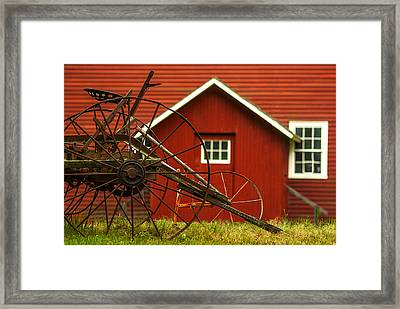 By The Mill House Version 2 Framed Print by Jack Zulli