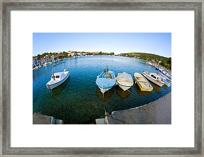 By The Pier Framed Print by Alexey Stiop