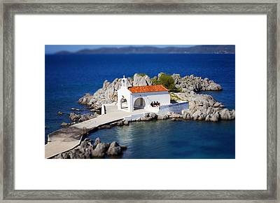 By The Sea Framed Print by Emmanouil Klimis