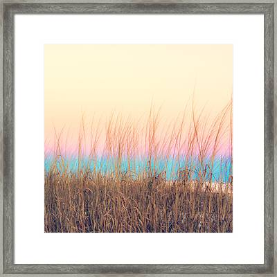 By The Sea Framed Print by Mark Hazelton