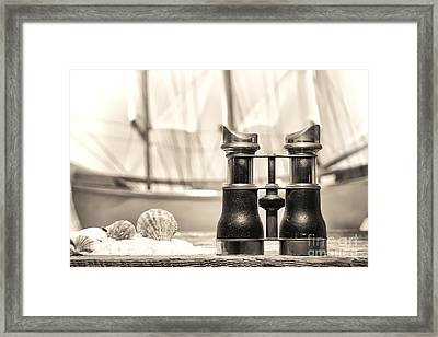 By The Sea Framed Print by Olivier Le Queinec