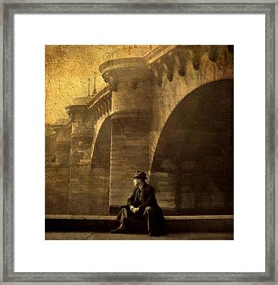 By The Seine Framed Print by Jessica Jenney