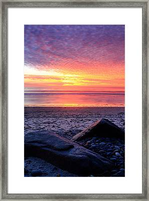 By The Shore Framed Print by Eric Foltz