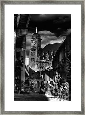By The Station Framed Print by Tim Wilson