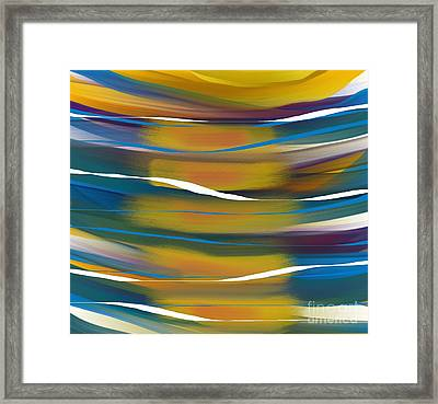 By The Water Framed Print by Hilda Lechuga