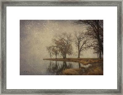 By The Waters Edge Framed Print